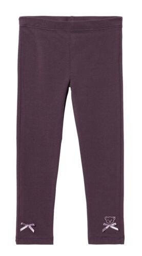 Steiff ® Fille Leggings Pantalon ours violet 86-122 H//W 2019-20 NOUVEAU!