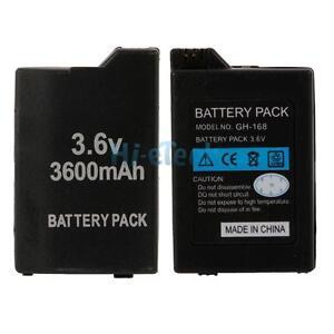 2X-New-3-6V-3600mAh-Battery-Pack-for-Sony-PSP-Slim-2000-3000