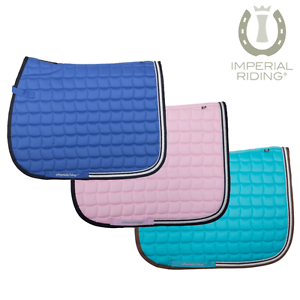 Imperial Riding Easy Going Saddlepad FREE UK Shipping