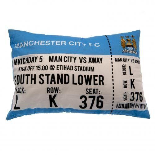 Manchester city fc match jour coussin