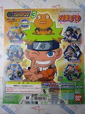 Anime Comic Naruto Swing Part 3 Gashapon Toy Machine Paper Card Bandai Japan
