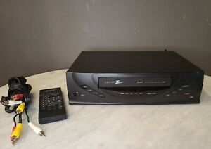 Zenith-VRB410-VCR-With-Remote-VHS-Player-Video-Cassette-Recorder-4-Head-HiFi