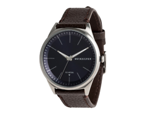ca1785c62744e Image is loading Bienville-Leather-Montre-analogique-watch-quiksilver -EQYWA03014-byjo
