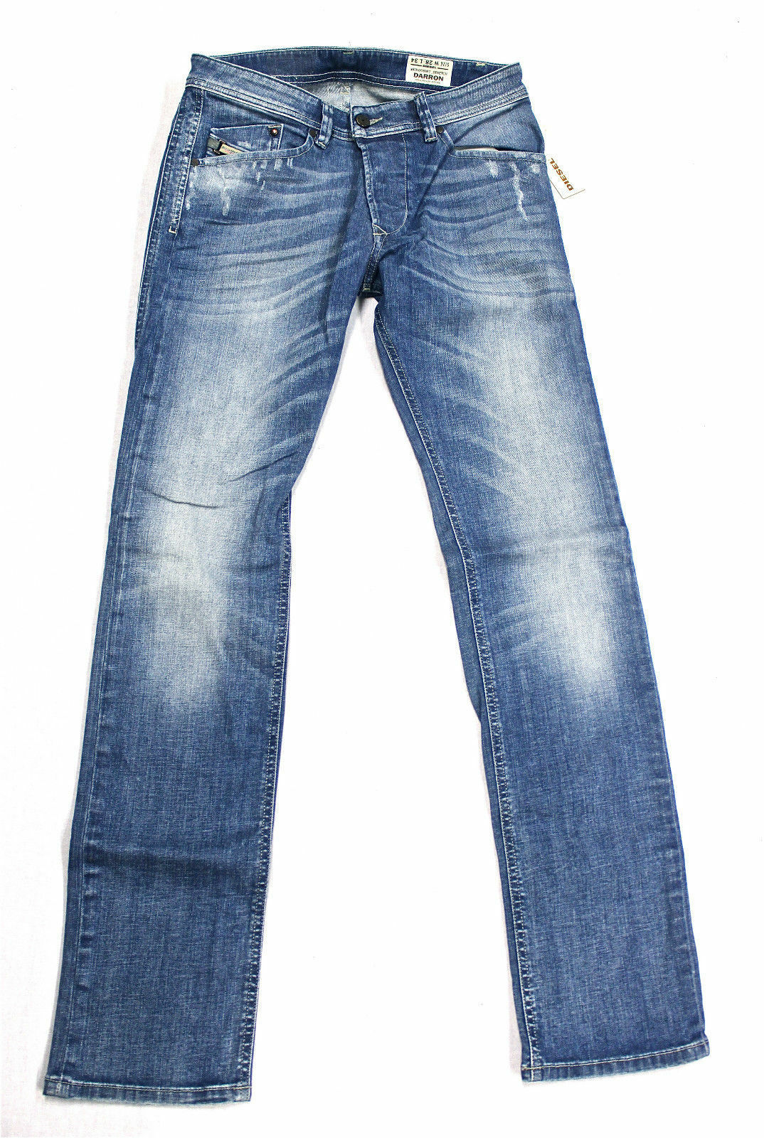 BRAND NEW DIESEL DARRON 8W7 JEANS 28X34 008W7 REGULAR SLIM FIT TAPErot LEG