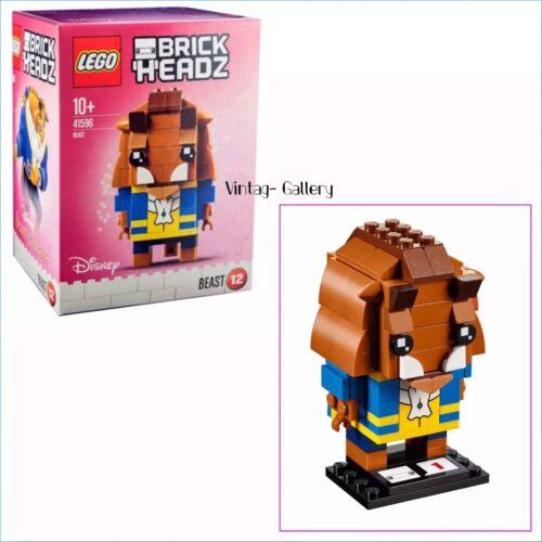 "LEGO BrickHeadz Disney's ""Beauty and the Beast"" Beast #41596 RETIRED NIB"