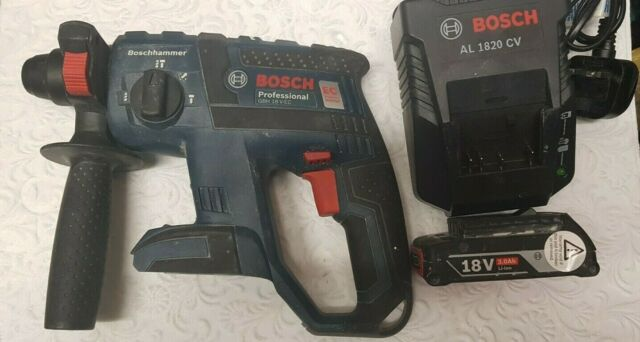 Bosch GBH 18 V-EC Brushless SDS+ Rotary Hammer 1 x 3.0Ah Battery & Charger ONLY