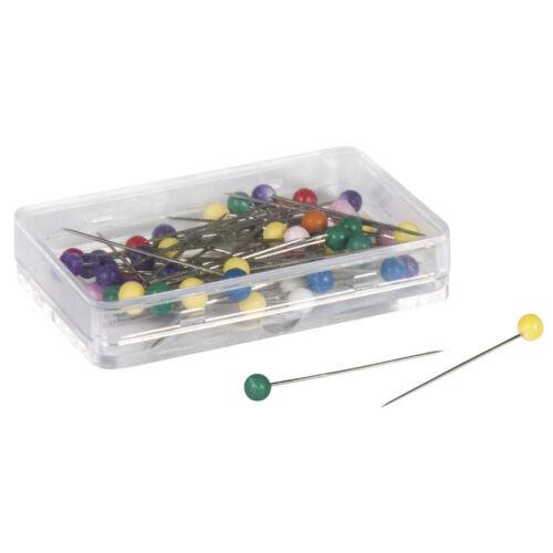 multicolor Alfileres con cabeza de plástico 31x0,6mm SB-box 50 trozo