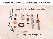Crosman 2240 & 2250 Deluxe Reseal Rebuild O-Ring Spring & Seal Kit