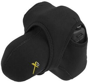 Xit-XTSTM-Medium-Reversible-Neoprene-Stretchy-Wrap-Case-Black-Grey