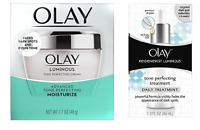 Olay Regenerist Luminous Tone Perfecting Treatment 1.3 Oz + Tone Cream 1.7 Oz