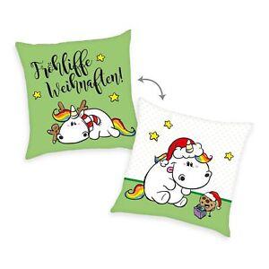 Pummeleinhorn-Kissen-Froehliffe-Weihnafften-Weihnachten-Geschenk-Kuschelkissen