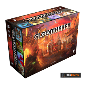 Gloomhaven Board Game By Cephalofair Games - Fourth Print