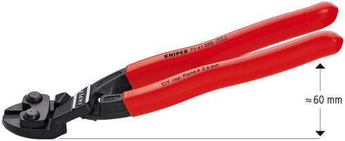 8 Inch Knipex 7141200SBA Cobolt Compact Bolt Cutter Angled Black Atramentized