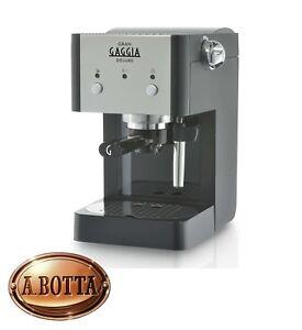 Macchina-per-Caffe-Caffettiera-Gran-Gaggia-RI8425-11-Deluxe-Nero-Cialde-ESE