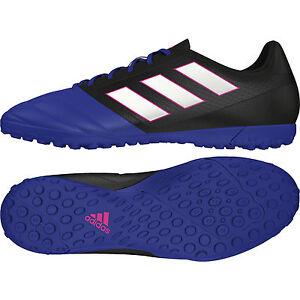 Dettagli su Adidas Ace 17.4 Turf BB1774 scarpa da calcetto UOMO Col. RoyalNero NEW
