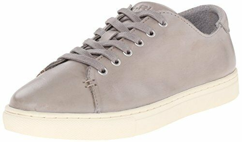 LAUREN RALPH LAUREN LEATHER WOMEN'S WAVERLY STONE SOFT LEATHER LAUREN SNEAKERS 6 8121b1