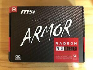 Details about MSI Radeon RX 570 Armor 4GB OC | DirectX 12 4k Video GPU  Graphics Card