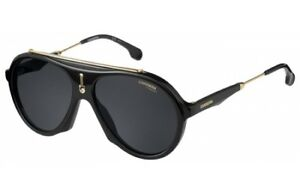 569c126a6e Image is loading NEW-Carrera-FLAG-80770-Black-Sunglasses