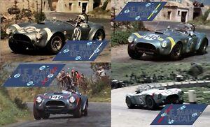 Calcas Ac Cobra Targa Florio 1964 1:32 1:24 1:43 1:18 1:64 1:87 Shelby Decals