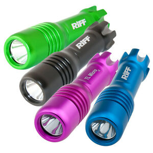 Riff TL Micro LED Mini Tauchlampe - wasserdicht bis 200m