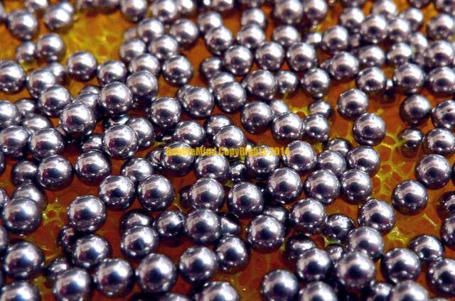 "500 PCS G100 1mm // 0.0394/"" 316 Stainless Steel Bearing Balls Grade 100"