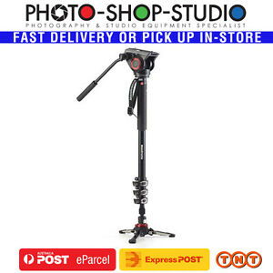 Manfrotto-MVMXPRO500-Video-Monopod-Aluminium-Kit-MVH500AH-Head