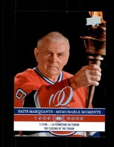 2008-09-Upper-Deck-Montreal-Canadiens-Centennial-299-Maurice-Richard-ref-97960