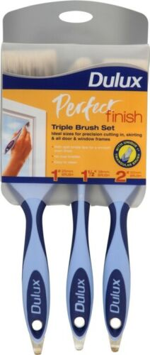 Dulux Finition Parfaite Brush Set Triple Pack ** 2400