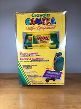 Vintage Crayons Camera Outfit 110 New Unopened Carrying Case Album Strap Outdoor