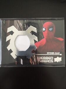 Details about 2017 Uppder Deck Spiderman Homecoming - Webbed Threads  Memorabilia - WTS7