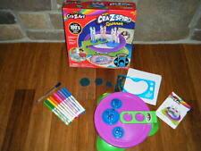 Cra-Z-Art Pop Color Magic Cra-Z-Spiro Spinner Kit 100's Spiral Designs Set 5+
