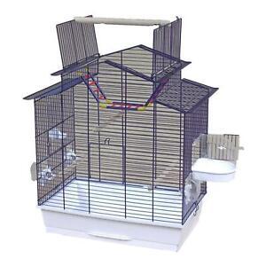 Xxl Bird Cage Budgerigar Canaries Gratuit Seat Free Bathhouse Ladder Accessoires