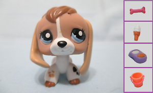 Littlest Pet Shop Dog Beagle 2207 And Free Accessory Authentic Lps