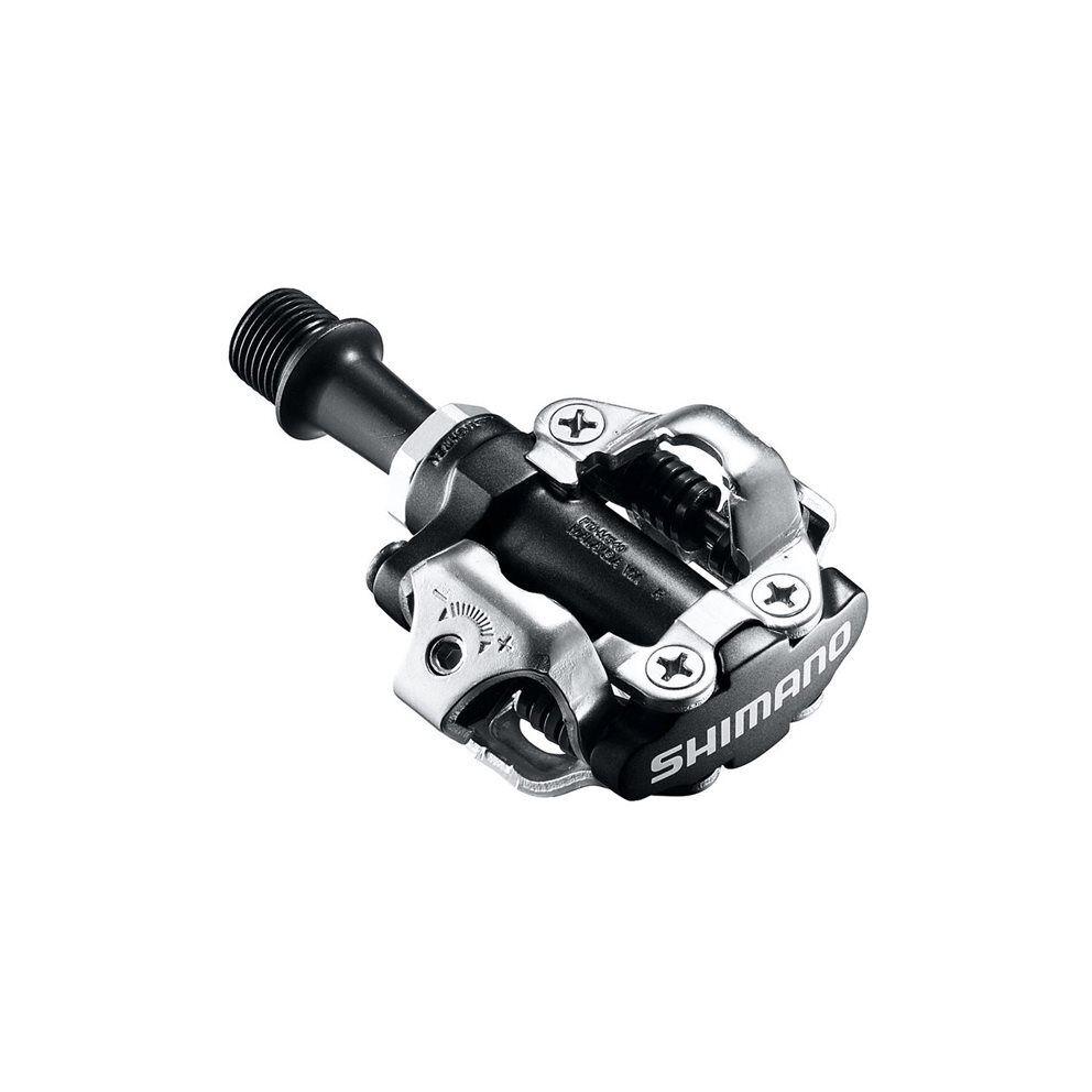 Coppia pedali pdm540 offstrada dual sided spd neri con tacchette smsh51 SHIuomoO