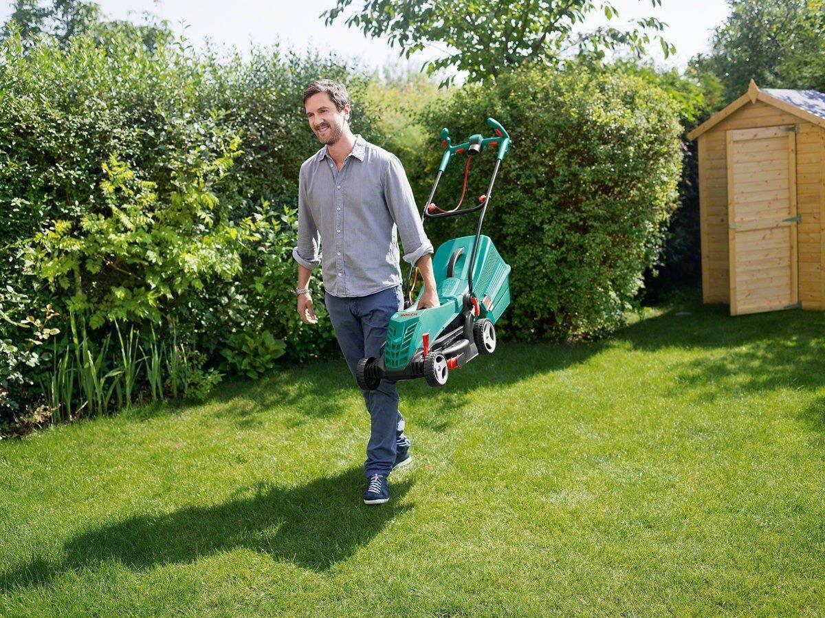 Bosch ROTAK36R Electric 1400w Rotary Lawn Mower 36cm//14in 240v