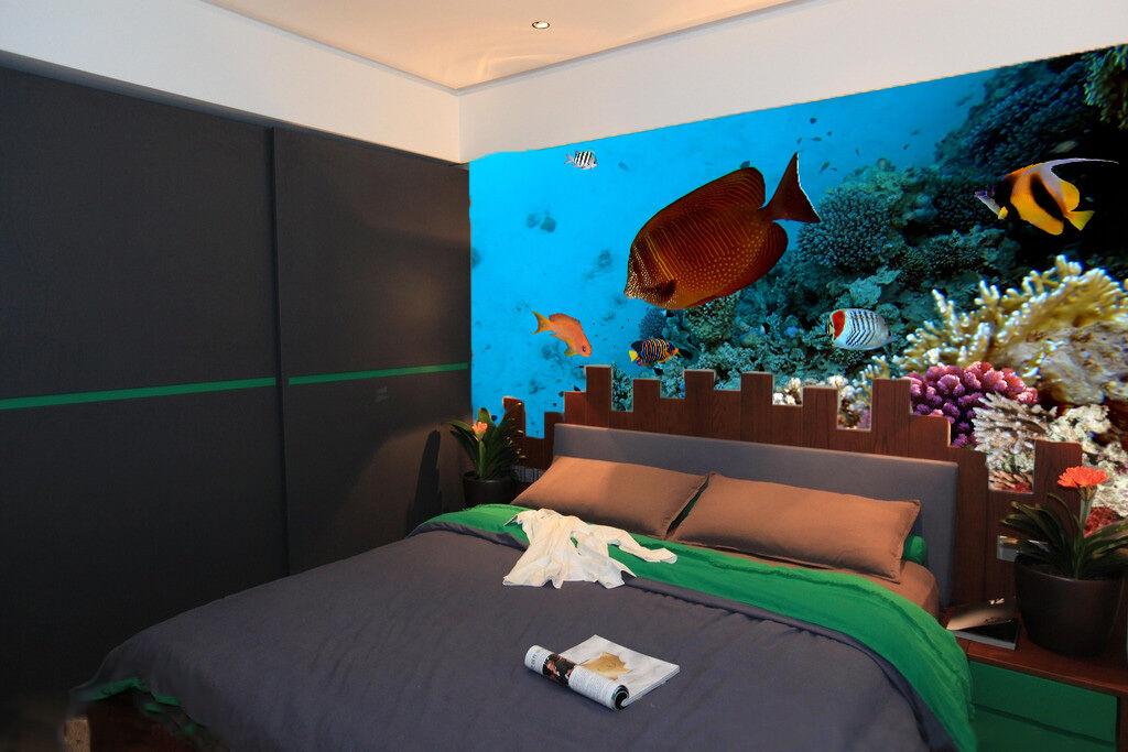 3D Oblate Fisch 5765761  Fototapeten Wandbild Fototapete BildTapete Familie DE