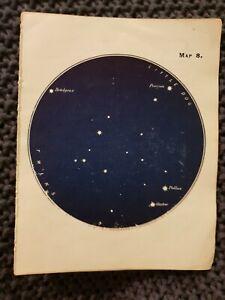 Gemini-The-Twins-Star-Constellation-Book-Print-c-1915
