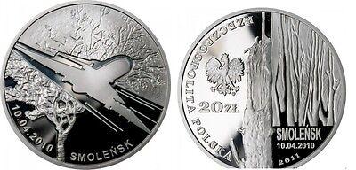 "Poland 2 zlote 2011 /""Plane Crash in Smolensk/"" UNC"