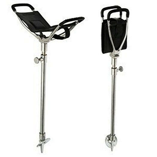 GOLF SPECTATOR SEAT STICK OUTDOOR ADJUSTABLE FOLDING WALKING CANE AND CHAIR NEW