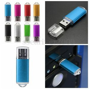 128MB USB 2.0 Flash Pen Drive Memory Stick Data Storage Thumb U Disk