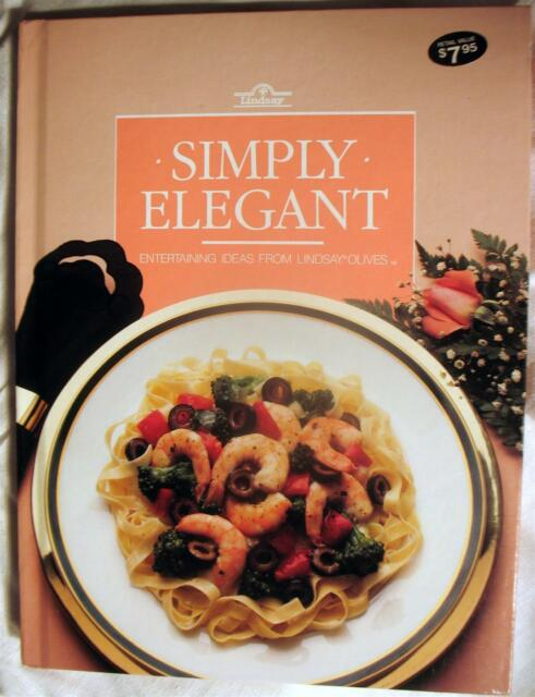 NEW Olive Cookbook Better Homes and Gardens Cooking Lindsay Olives Recipes 1985