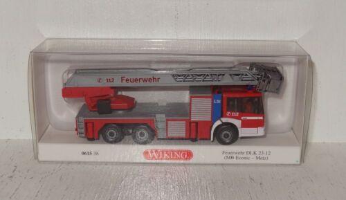 MB Econic - Metz D669 Wiking 061538 Feuerwehr DLK 23-12 1:87 in OVP