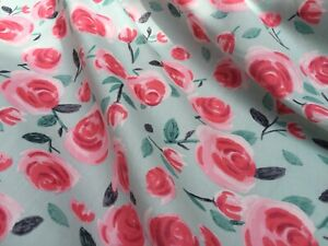 John-Lewis-cotton-100-039-Rosation-A-039-per-metre-dress-fabric-sewing