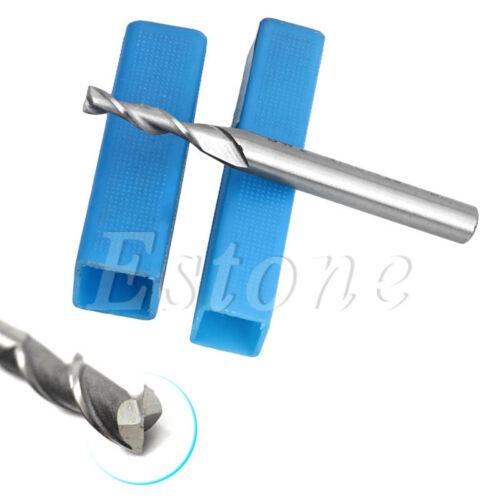 5Pcs HSS /& Aluminium Extra Long 4mm 2 Flute Mill Cutter CNC Bit Extended