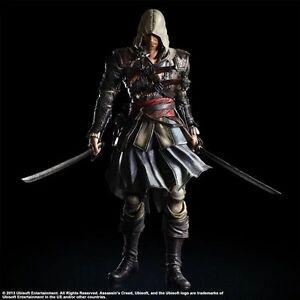 Play-Arts-Kai-Assassin-039-s-Creed-IV-Black-Flag-Edward-Kenway-PVC-Action-Figure