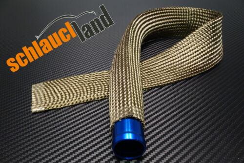1m Kevlar Titan Hitzeschutzschlauch ID 15mm *** Wärmeschutz heat sleeve Schlauch