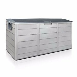 Image Is Loading Outdoor Patio Deck Box All Weather Large Storage