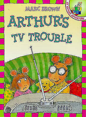 """""""AS NEW"""" Arthur's TV Trouble (Red Fox picture books), Brown, Marc, Book"""