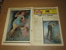 FANZINE DI FUMETTI NERBINI FANG MAGGIO 1983 FUMETTI E CINEMA FILMOGRAFIA