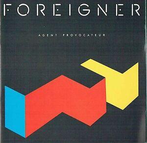 NEW-CD-Album-Foreigner-Agent-Provocateur-Mini-LP-Style-Card-Case